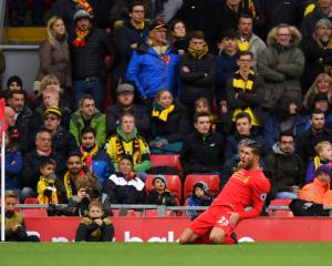 Liverpool hit Watford for six to go top of the Premier League