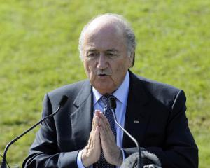 Blatter sounds match-rigging warning