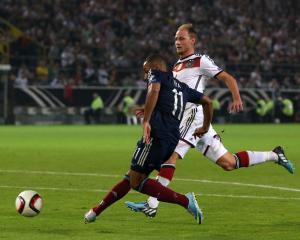 Battling Scots narrowly beaten by Germany