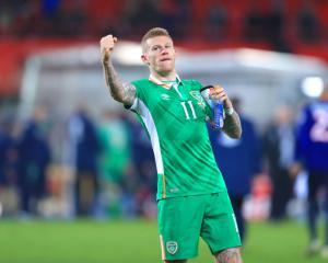 Republic winger James McClean: Roy Keane would've killed me if I'd missed target