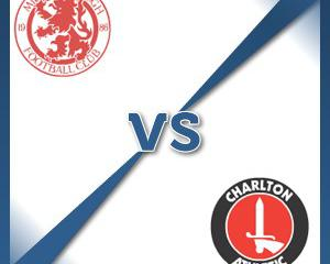 Middlesbrough V Charlton at Riverside Stadium : Match Preview