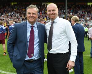 Burnley chairman Mike Garlick wants to stay ambitious and keep Sean Dyche