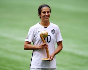 FIFA player of the year Carli Lloyd set to join Manchester City Women