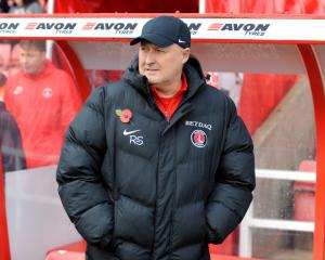 Charlton sack manager Russell Slade after just 16 matches in charge