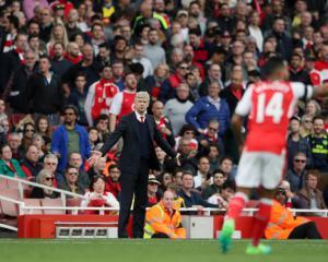 Gael Clichy backs under-fire Arsenal boss Arsene Wenger