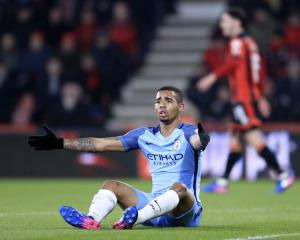 Manchester City boss Pep Guardiola hopeful Gabriel Jesus will return this season