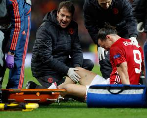 Jose Mourinho says Man United are in trouble after injury to Zlatan Ibrahimovic