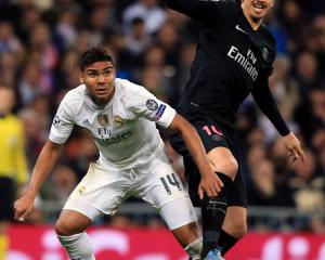Leg fracture means Real's Brazilian ace Casemiro will be out for a month