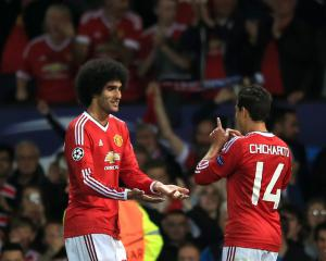 Marouane Fellaini set to play attacking role for Manchester United