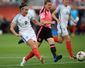 Taylor hat-trick leads England to thumping win