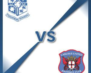Tranmere V Carlisle at Prenton Park : Match Preview