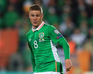 Everton's James McCarthy out of Republic of Ireland squad with hamstring injury