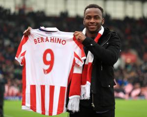 Stoke striker Saido Berahino ready to move on from West Brom troubles