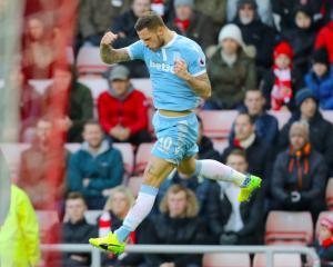 Mark Hughes urges Stoke to think big after win at Sunderland