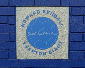 Everton name stands after Howard Kendall and Sir Philip Carter