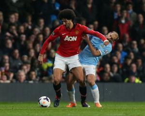 Pablo Zabaleta surprised by Marouane Fellaini's antics in Manchester derby