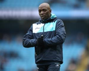 Assistant manager Claude Makelele signs new deal with Swansea