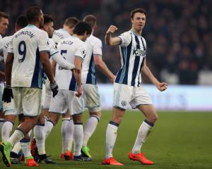 Late Jonny Evans goal earns West Brom a Premier League point at West Ham