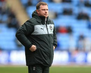 Mark Robins returns for second spell as Coventry boss