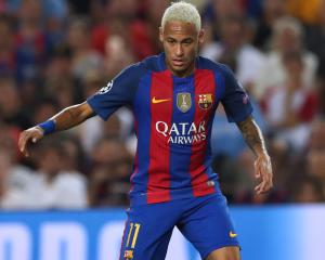 Barcelona forward Neymar delighted to finalise new five-year contract