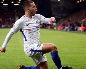 Eden Hazard transforms his back garden into football pitch