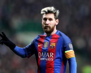 Messi at the double as big names start Champions League bid in style