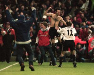 Ryan Giggs' great Manchester United moments