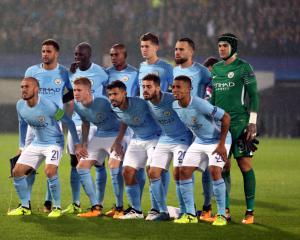 John Stones scores twice as Manchester City ease past Feyenoord