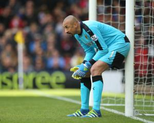 Hornets' Heurelho Gomes happy with a point against Everton