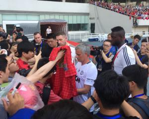 Chaotic end to Manchester United's pre-season trip to China