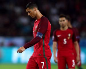 Sore loser Ronaldo not impressed with Iceland