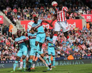 West Ham suffer Stoke defeat to leave European place in peril