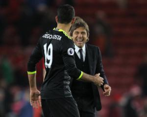 Antonio Conte hails Diego Costa as one of world's best strikers
