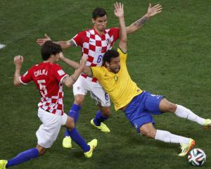 Croatia defender hits out at penalty scandal