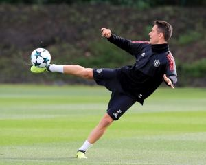 Herrera omission for Champions League tie underlines United strength in depth