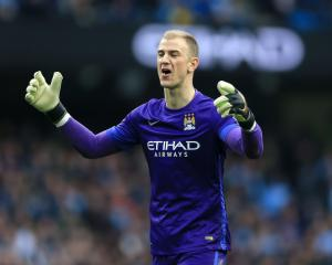 Pep Guardiola tells unhappy Joe Hart to 'try again' following omission