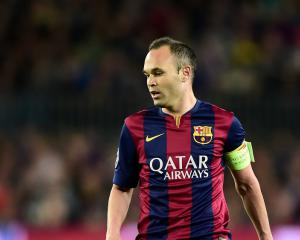 Iniesta absent for Spain games