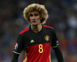 Fellaini has suffered knee ligament damage, reveals Belgium coach Martinez