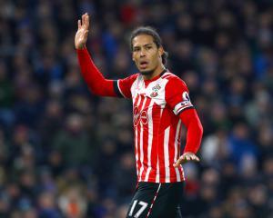 Virgil van Dijk left out of Southampton's pre-season training camp in France