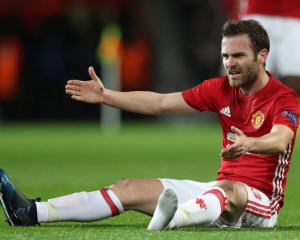 Mata frustrated at having to watch on as United struggle