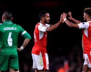 Theo Walcott: Arsenal are 'flying at the moment' after thrashing Ludogorets 6-0