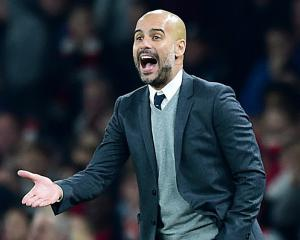 Pep Guardiola looking for Premier League challenge