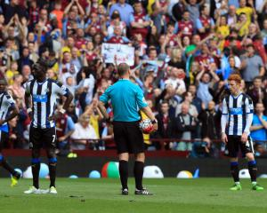 Newcastle in danger after failure to win at Aston Villa