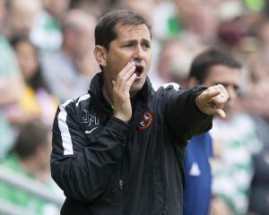 Dundee United part company with manager Jackie McNamara