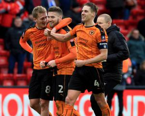 Wolves heap more misery on Liverpool in shock FA Cup win at Anfield