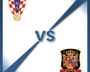 Croatia V Spain - Follow LIVE text commentary