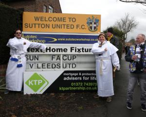 Sutton chairman determined to keep Arsenal FA Cup tie at Gander Green Lane