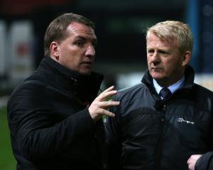 Gordon Strachan passes on advice to new Celtic boss Brendan Rodgers