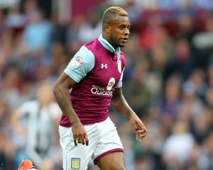 Aston Villa's Leandro Bacuna given six-match ban for barging assistant referee