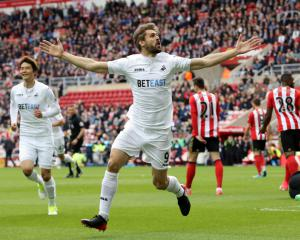 Swansea hopeful Fernando Llorente can start season after breaking arm on holiday
